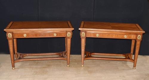 Pair of French Empire Console Tables c.1890 (1 of 7)