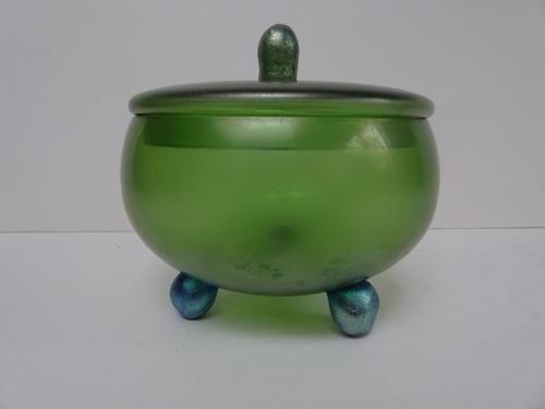Loetz Glass Powder Bowl (1 of 12)