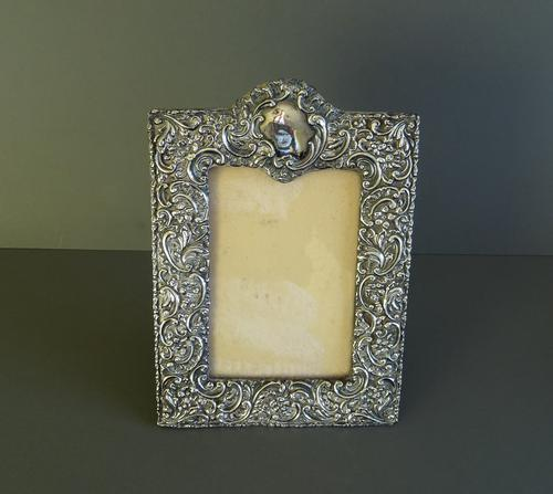 Edwardian Silver Mounted Photograph Frame, Hallmarked 1902 (1 of 1)