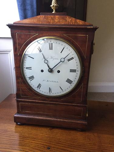 English Regency Bracket Clock (1 of 1)