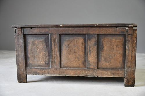 18th Century Oak Coffer (1 of 12)