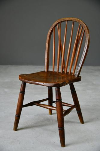 Hoop & Stick Back Kitchen Chair (1 of 10)