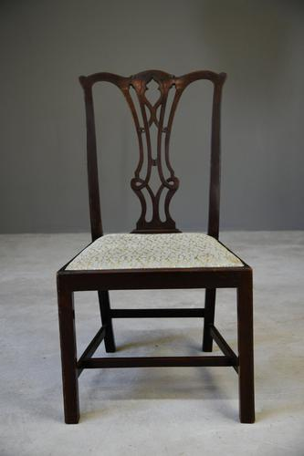 Single Chippendale Style Dining Chair (1 of 11)