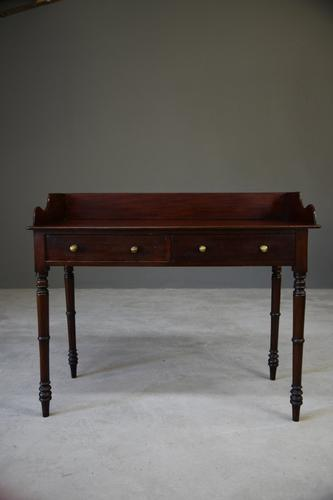 Antique Victorian Mahogany Desk / Washstand (1 of 12)