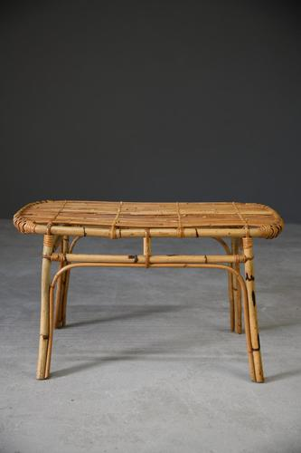 Retro Bamboo Coffee Table (1 of 9)