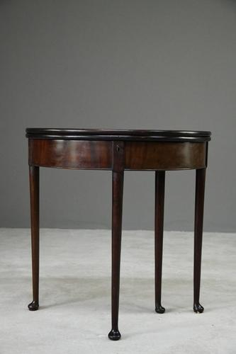 18th Century Demi Lune Tea Table (1 of 12)
