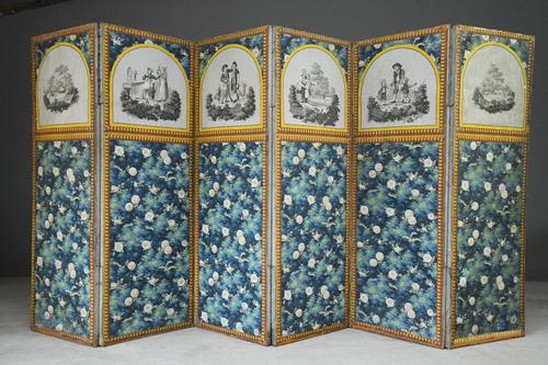 Antique French Floral Screen (1 of 12)