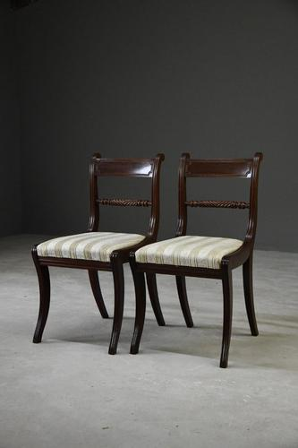 Pair of Regency Style Dining Chairs (1 of 10)