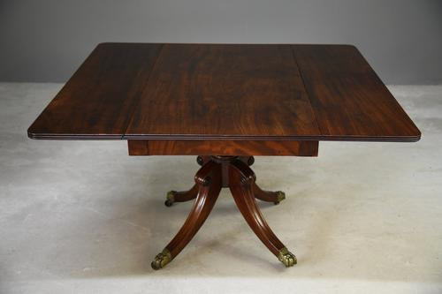 Mahogany Drop Leaf Dining Table (1 of 13)