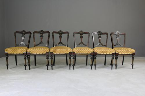 Aesthetic Movement Dining Chairs (1 of 1)