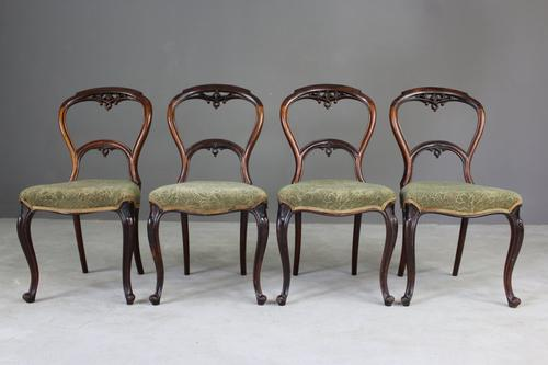 Victorian Rosewood Dining Chairs (1 of 1)