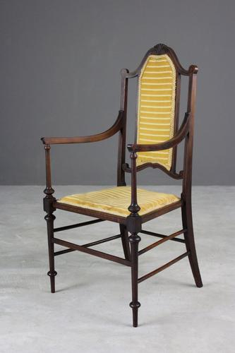 Edwardian Open Armchair (1 of 1)
