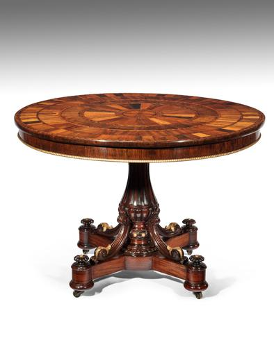 Exquisite Specimen Top Centre Table c.1830 (1 of 1)