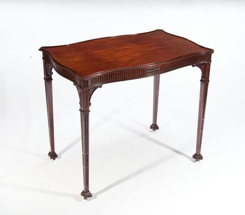 Very Fine 19th Century Mahogany Silver Table (1 of 1)