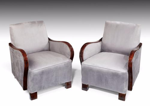 Good Pair of Art Deco Armchairs (1 of 1)