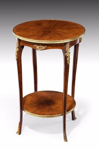 Elegant Kingwood Two Tier Occasional Table (1 of 1)