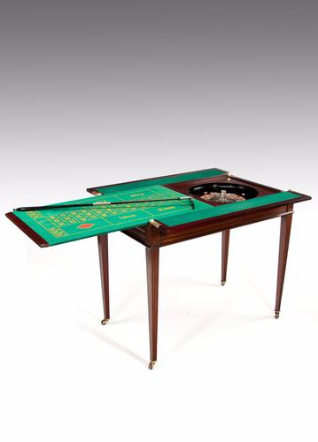 Rare Edwardian Walnut Roulette - Games Table by Maple & Co of London (1 of 1)