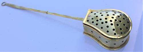 Victorian Brass Chestnut Warmer (1 of 5)