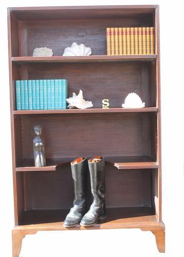George III Mahogany Military Style Bookcase (1 of 1)