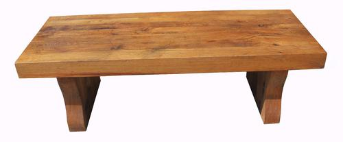 Solid Oak Coffee Table c.1930 (1 of 5)
