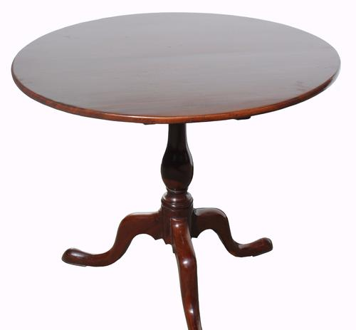 George III Mahogany Tilt Top Table (1 of 1)