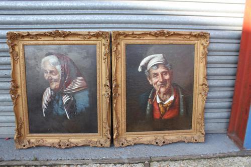 Pair of Portraits c.1910 (1 of 1)