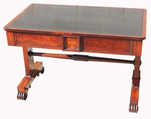 William IV Mahogany Writing Desk (1 of 1)