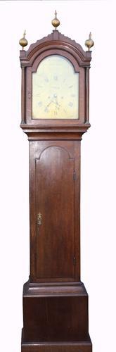 George III Oak Longcase Clock (1 of 1)
