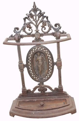 Good Quality Victorian Cast Iron Stick Stand (1 of 1)