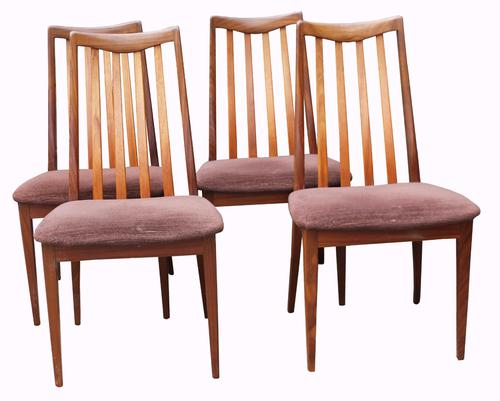 Set of Four 'G' Plan Teak Dining Chairs (1 of 1)