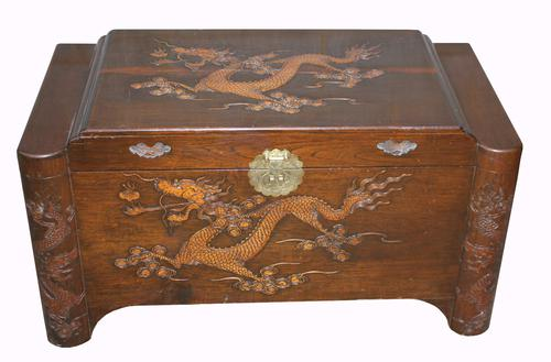 Good Quality Chinese Camphor Wood Trunk (1 of 1)