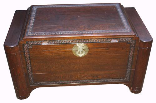 Good Quality Chinese Camphor Wood Chest (1 of 1)