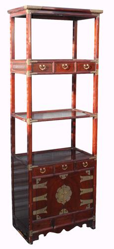 Set of 1920s Oriental Lacquered Shelves (1 of 1)