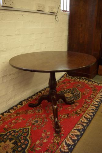 Georgian Mahogany Tilt Top Supper Table (1 of 6)