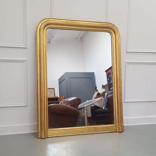 Beautiful Gilded French Mirror c.1850 (1 of 8)