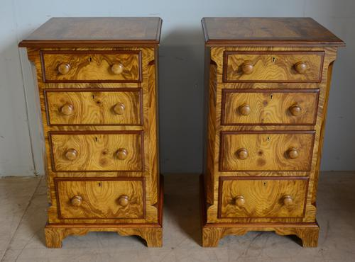 Pair of Victorian Bedside Chest (1 of 6)