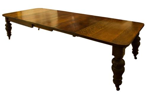 Victorian Oak Extending Table (1 of 7)
