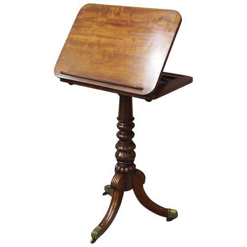 George IV Mahogany Reading Table / Music Stand (1 of 12)