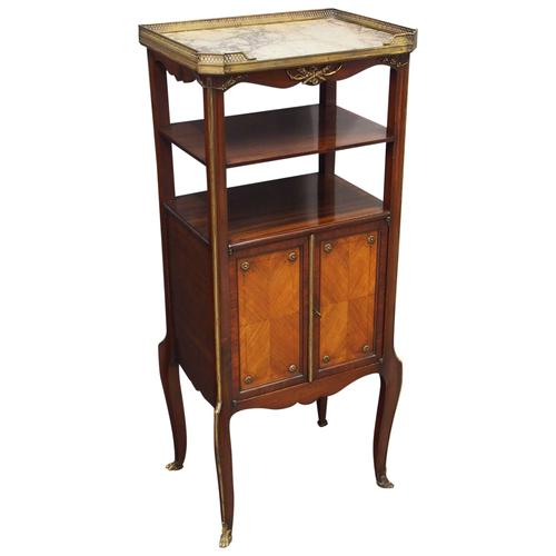 French Marble Top Etagere (1 of 11)