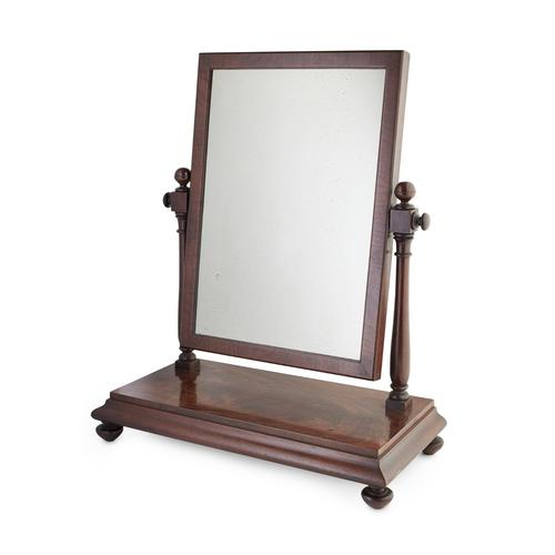 Scottish Mahogany Dressing Mirror by Mein of Kelso (1 of 9)