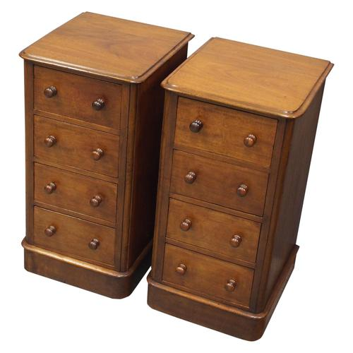 Pair of Victorian Mahogany Bedsides (1 of 11)