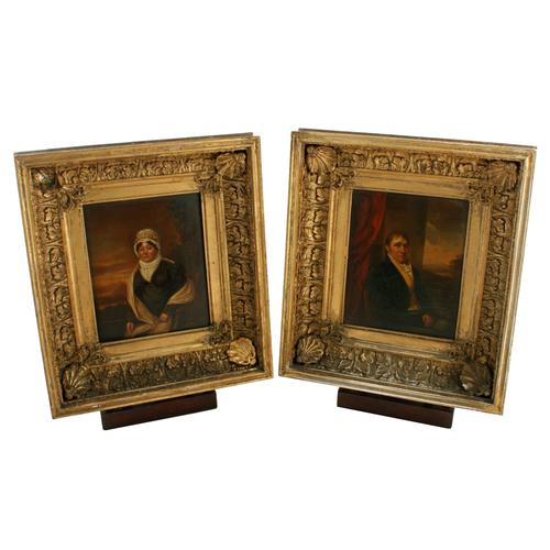 Pair of 19th Century Framed Portraits (1 of 8)