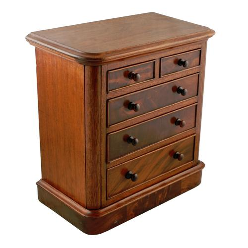 Victorian Miniature Chest of Drawers (1 of 8)