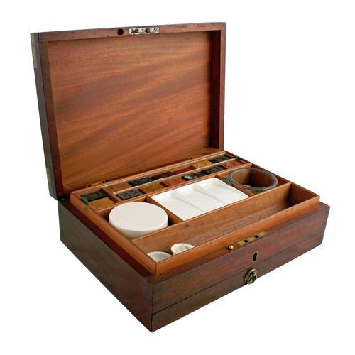 Newman's Artist's Paint Box c.1850 (1 of 8)