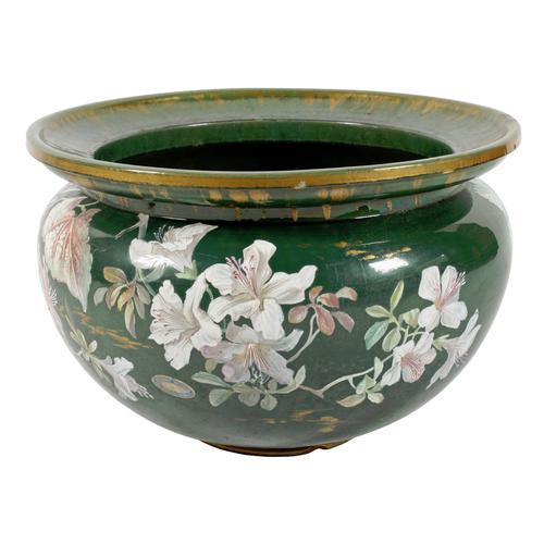 Large Clement Massier Pottery Jardinière (1 of 8)