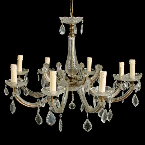 Early 20th Century 8 Branch Chandelier (1 of 8)