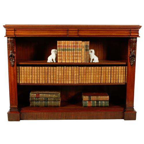 Pair of Victorian Open Bookcases (1 of 8)