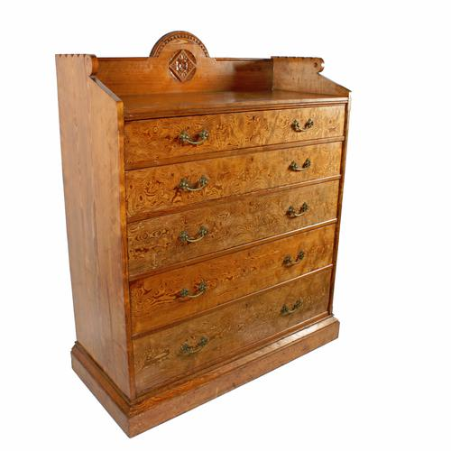 Magnificent Pitch Pine Chest by Robson & Sons Newcastle (1 of 8)