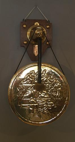 Wall Hanging Gong c.1900 (1 of 6)