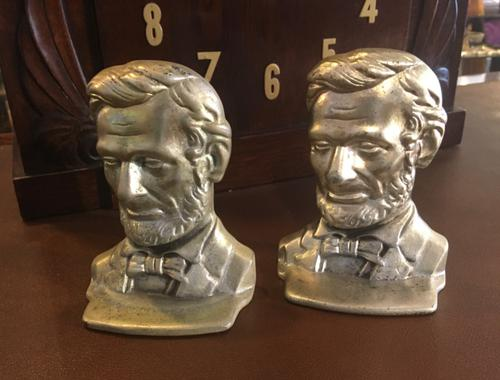 Pair of Abraham Lincoln Bookends (1 of 7)